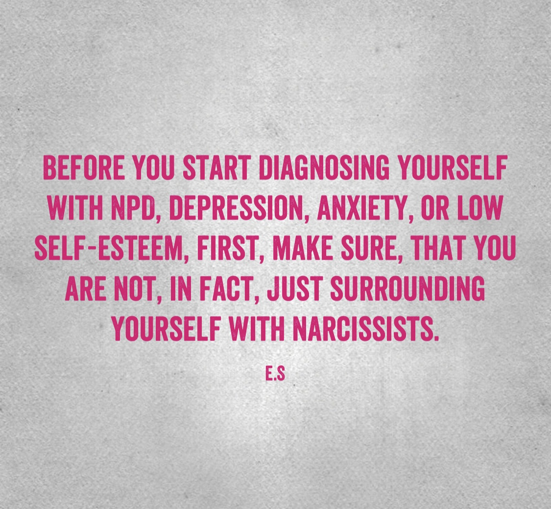 Borderline Personality Disorder, Narcissistic Personality